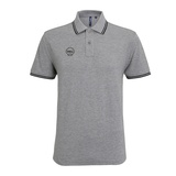 POLO GRIS HOMME SHELL