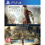 Compilation Assassin's Creed Origins + Assassin's Creed Odyssey Jeux PS4