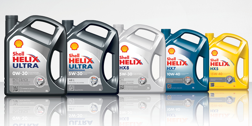 Shell hellix ultra